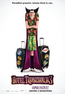 Hotel Transilvanija 3 - Odmor počinje 3D (sinhronizovano)