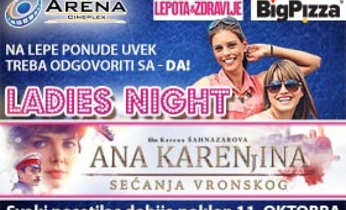 11.10. u 20h na premijeri filma Ana Karenjina: Sećanja Vronskog svakog posetioca očekuju pokloni. Karte u prodaji!