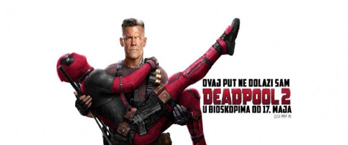 Nakon što je srušio sve rekorde na svetskim blagajnama, Rajan Rejnolds se vraća kao Deadpool na velika platna! Karte su u prodaji