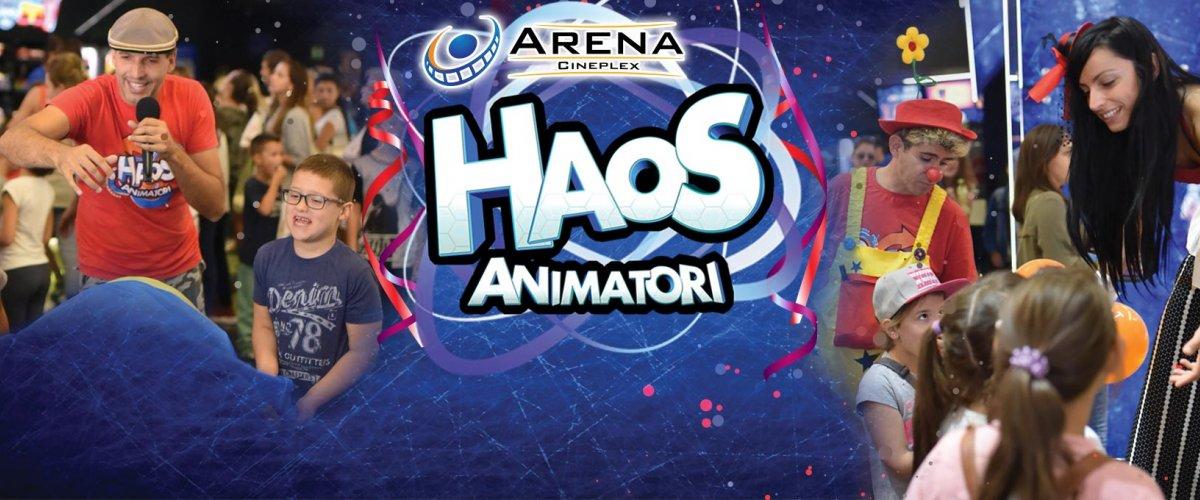 Porodični vikend uz velike popuste i najbolja zabava za najmlađe uz Haos animatore svakog vikenda od 11 do 12h