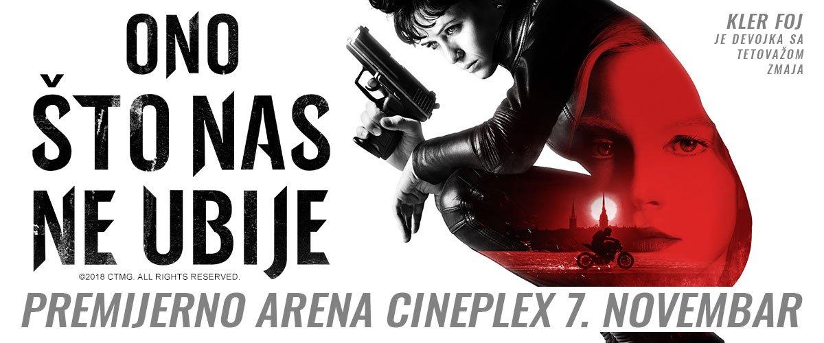 Ekranizacija bestselera Ono što nas ne ubije stiže 7. novembra u Arenu Cineplex.
