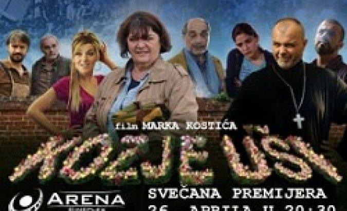 Uz prisustvo glumaca i autora, svečana premijera filma Kozje uÅ¡i zakazana je za 26.04. u 20:30h u Areni Cineplex. Karte su u prodaji!